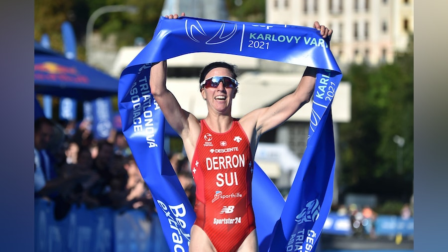 Julie Derron rises to Czech challenge to win gold in Karlovy Vary