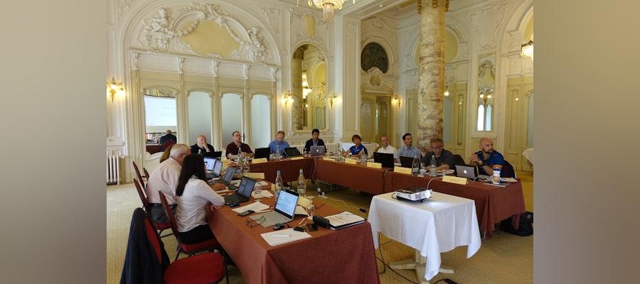 ITU delegation takes part in the ORIS meeting
