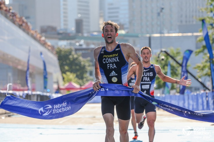 Coninx leads French podium sweep to seize super-sprint gold