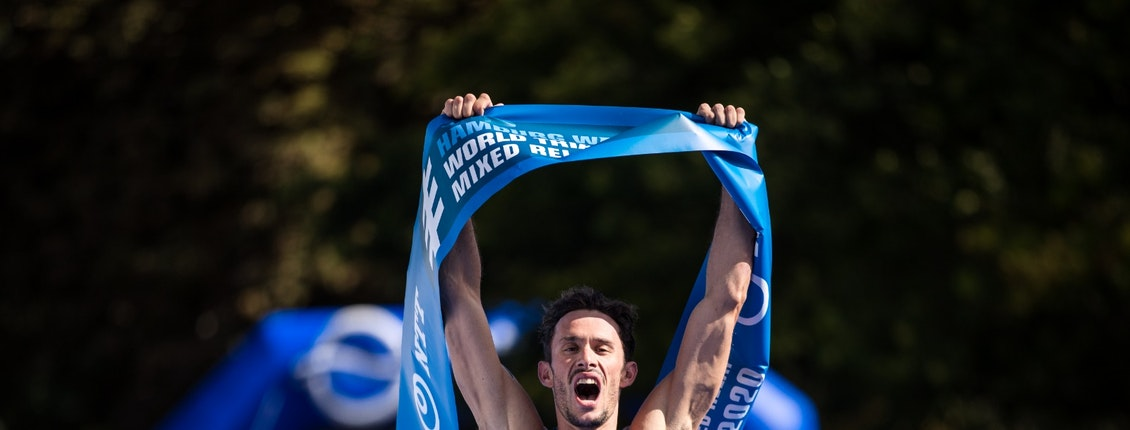 Flying French power to third straight Mixed Relay World Championship