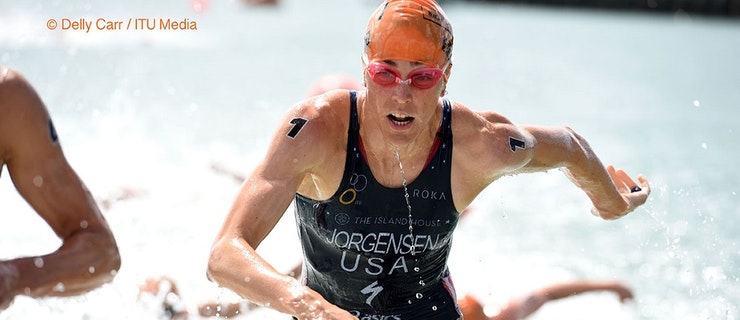 Gwen Jorgensen secures first WTS Auckland win