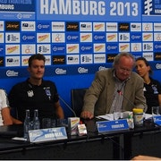 Hamburg Press Conference