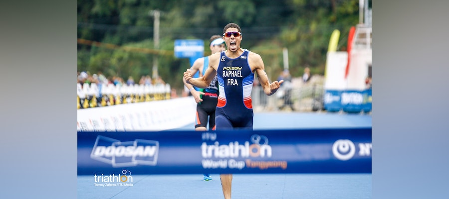 Aurelien Raphael and Summer Cook secure World Cup wins in Tongyeong