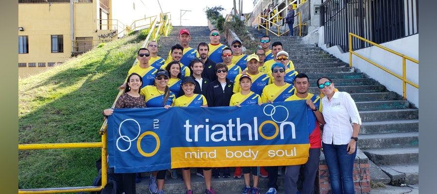 Triathlon development at ITU coaches course in Manizales