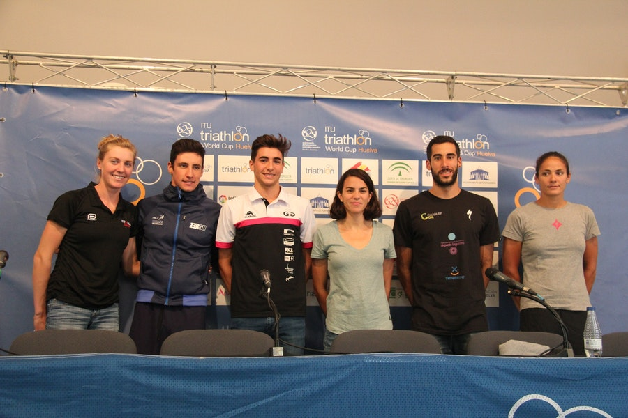 Athletes chatter ahead of Huelva World Cup