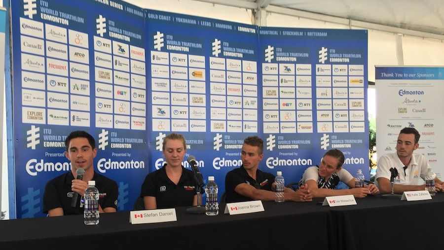 Some snippets from #WTSEdmonton Press Conference