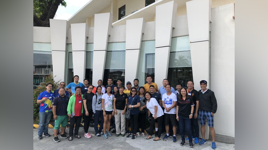 Level 1 Technical Officials Seminar held in the Philippines