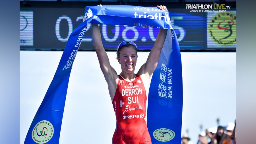 Julie Derron earns first-ever World Cup title in China