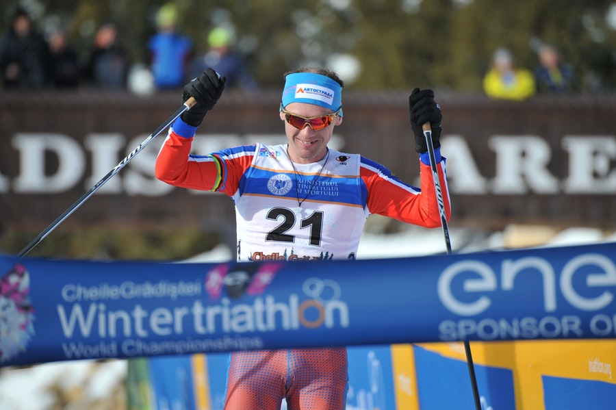 Russians crowned again in Winter Triathlon, as Surikova and Andreev claim World Titles