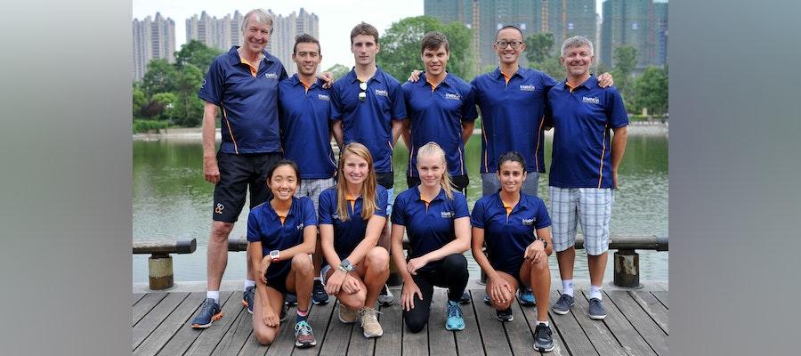 Team ITU starts the season in Chengdu