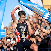 Jonny Brownlee gets his first WTS win of the season in Stockholm