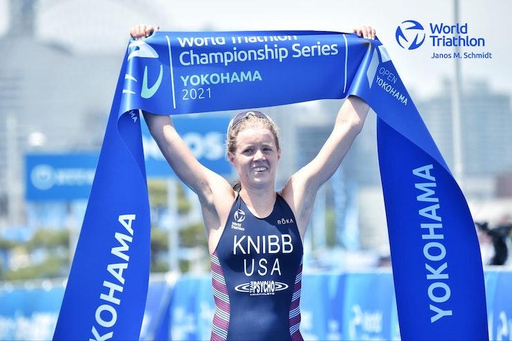 Taylor Knibb asegura su plaza olímpica al ganar en Yokohama
