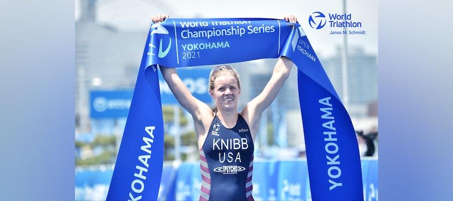 Taylor Knibb heading to Tokyo after huge WTCS Yokohama win