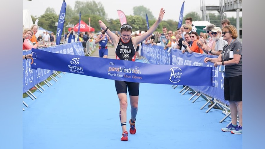 Golden day at Eton Dorney for British Paratriathletes
