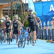 Lawrence Fanous putting Jordan on the triathlon map