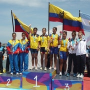 Team Triathlon a hit at the 2011 South American Beach Sports Games