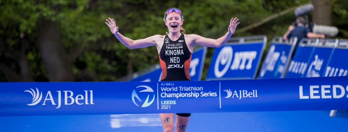 Magnificent Maya Kingma wins first Series gold in Leeds
