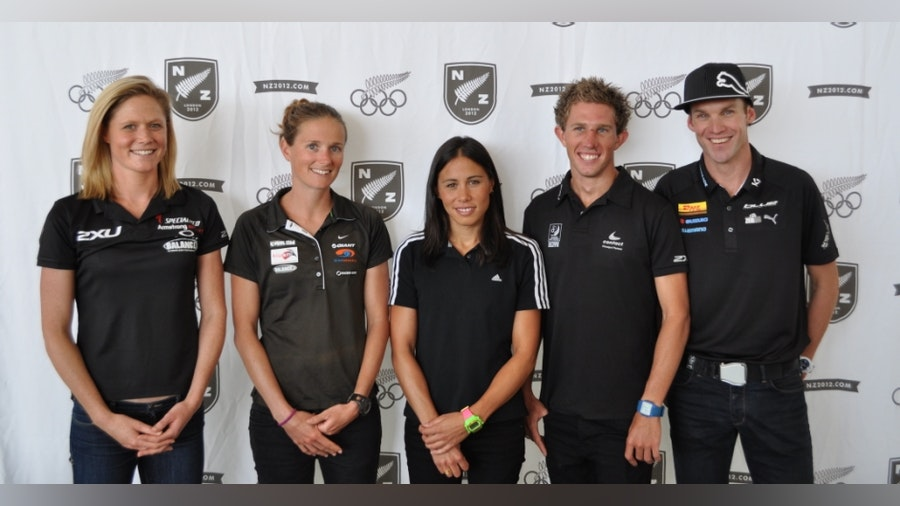 New Zealand names Olympic team for London 2012