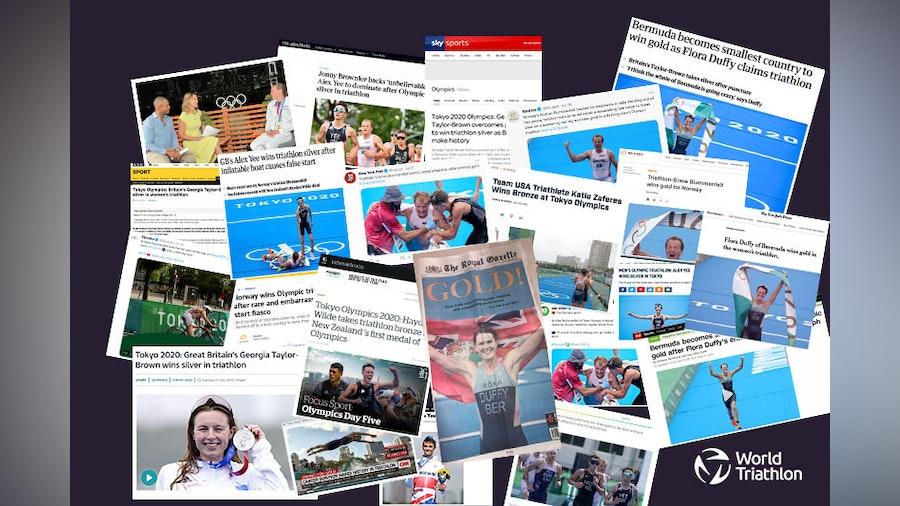 The media talk around Olympic Triathlon at Tokyo 2020