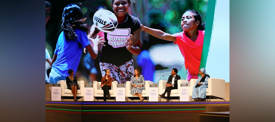 ITU President encourages women empowerment at the Olympism in Action Forum