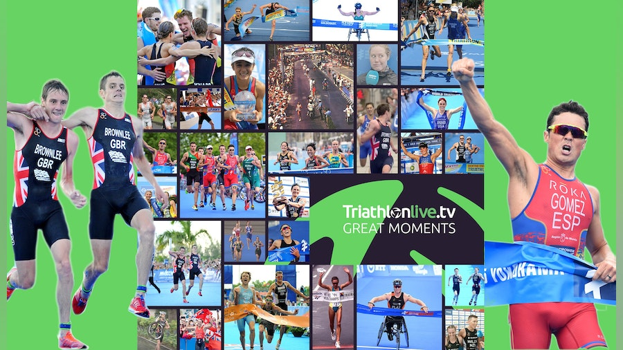 World Triathlon followers vote for favourite TriathlonLive moments