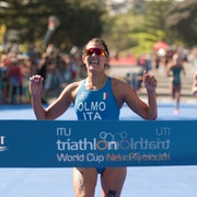 Angelica Olmo crowned with first ever world cup victory in New Plymouth