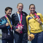 Sarah Haskins crowned Pan Am Games gold medallist