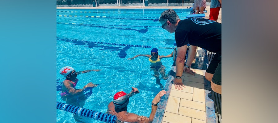 Ben Gathercole leads training camp for Pacific Island athletes and coaches