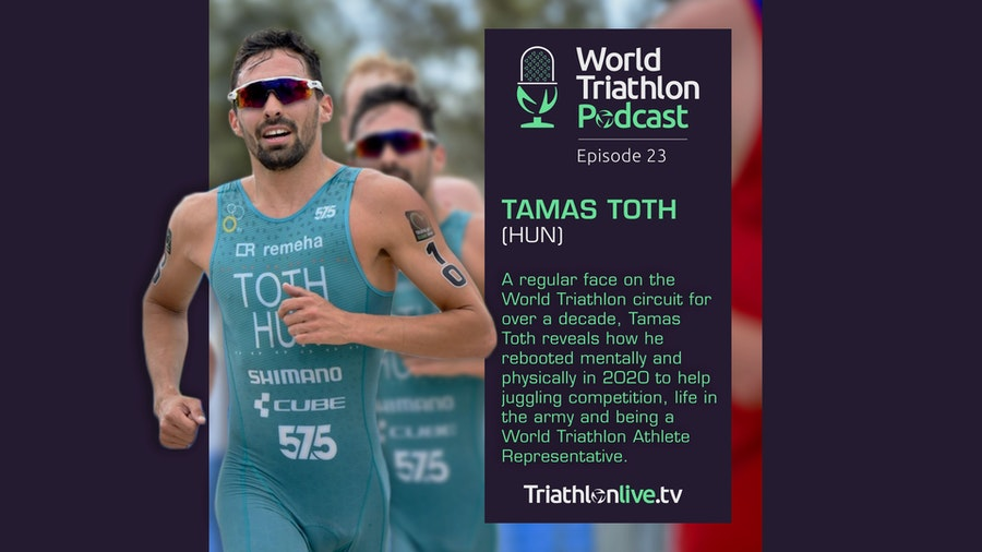 World Triathlon Podcast with Tamas Toth