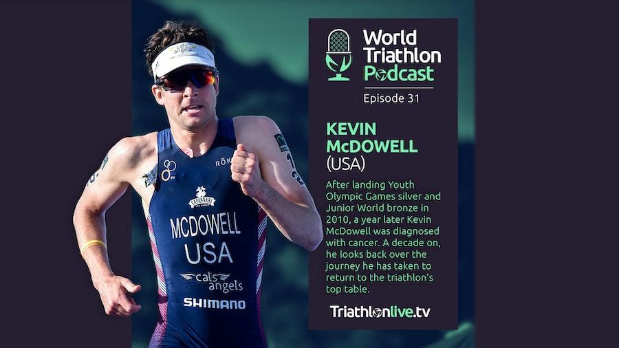 World Triathlon Podcast 31: Kevin McDowell