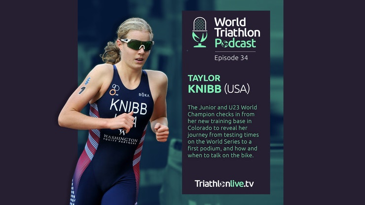World Triathlon Podcast 34: Taylor Knibb