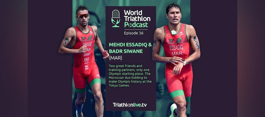 World Triathlon Podcast 36: Mehdi Essadiq and Badr Siwane