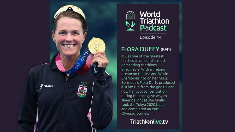 World Triathlon Podcast #44 - Tokyo 2020 Olympic Champion Flora Duffy