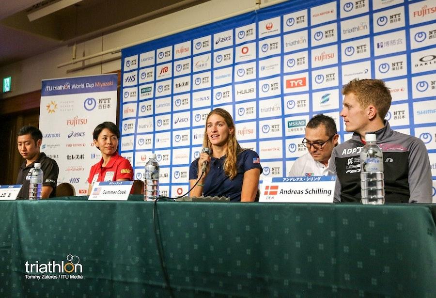 Athlete chatter ahead of #MiyazakiWC