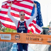 Jordan Rapp wins ITU Long Distance Triathlon World Championship