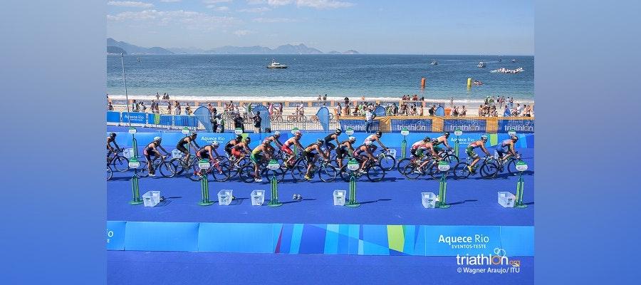 Olympic triathlon start lists revealed