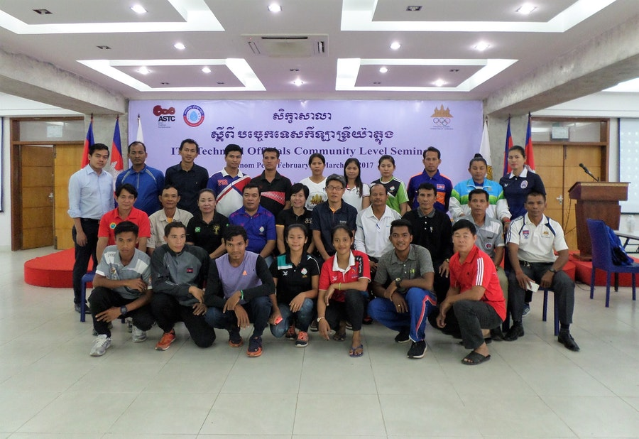 First steps towards developing Technical Officials in Cambodia