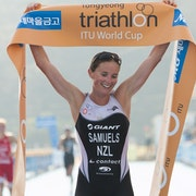 Nicky Samuels soars to gold at Tongyeong World Cup