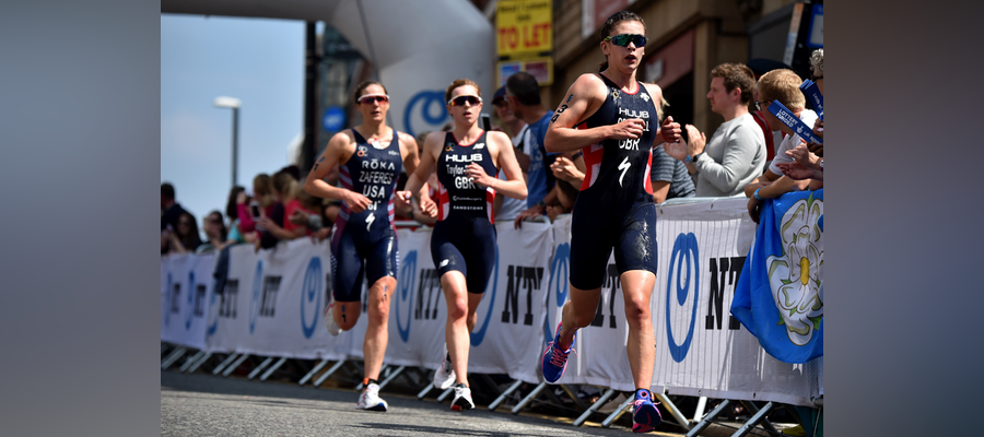Katie Zaferes determined to march on at WTS Leeds
