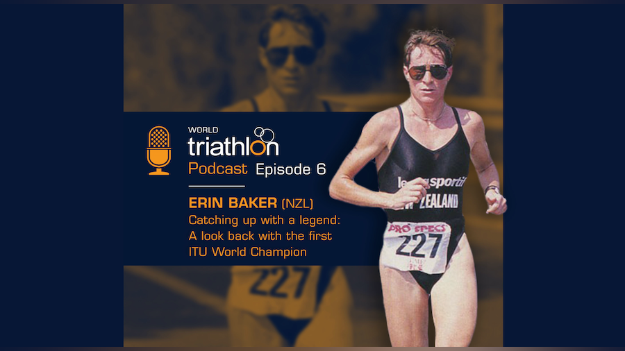 Avignon '89 World Champion Erin Baker guest stars on latest World Triathlon podcast