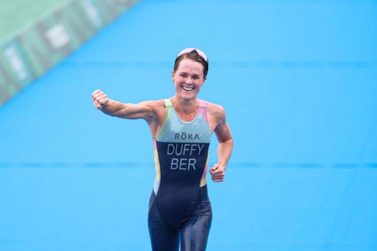 Duffy tiene una misión: ganar el título olímpico y el de Campeona Mundial de la Serie de Campeonatos Mundiales el mismo año