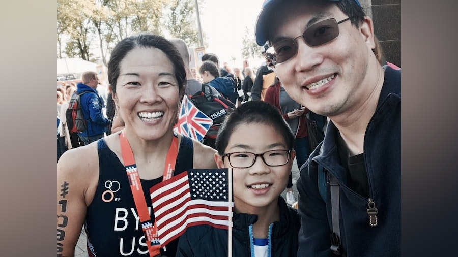 Age group triathlete Sharon Byun is motivated to inspire and succeed at the 2018 Grand Final