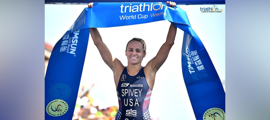 Spivey and Iden win emphatic World Cup golds in Weihai