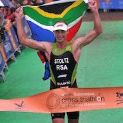 Conrad Stoltz conquers inaugural ITU Cross Triathlon World Championship