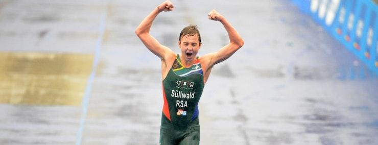 Wian Sullwald runs away to 2012 ITU Junior Men's World Championship