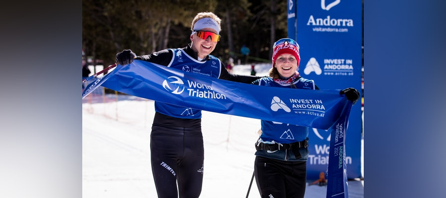 Norway is crowned in Andorra the champion of Winter Triathlon