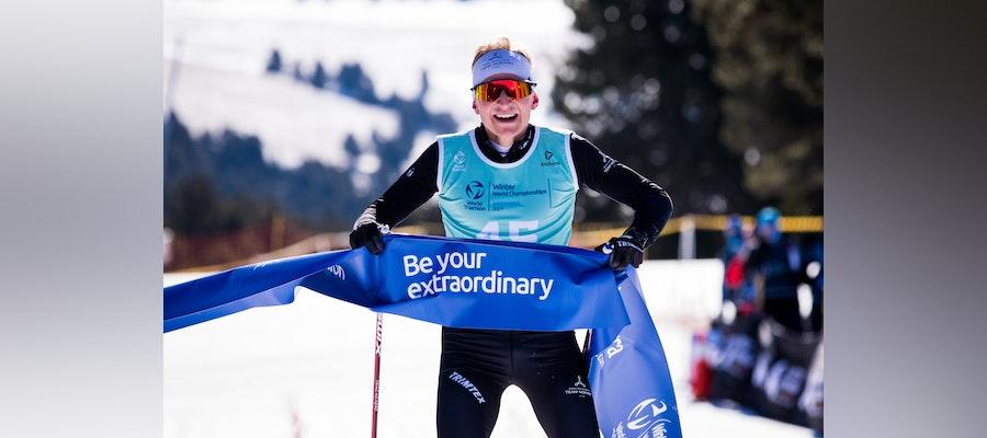 Norwegian Hans Christian Tungensvik claims the Winter Triathlon crown