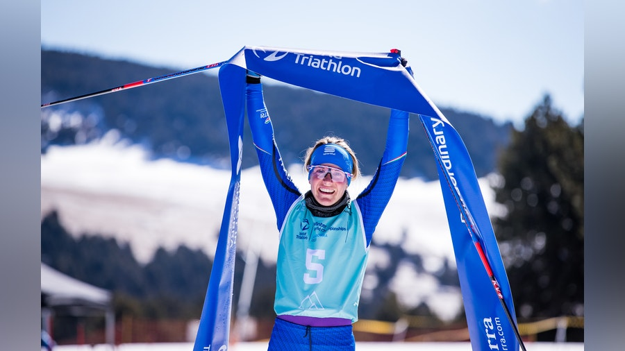 First ever Winter Triathlon world title for Italian Mairhofer