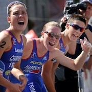 Athletes back Team Triathlon for Olympics after record breaking 2011 titles