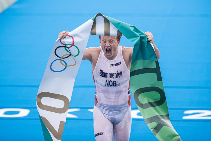 Olympic Champion: Kristian Blummenfelt triumphant in Tokyo